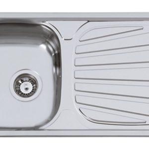 Fregadero de Cocina con Escurridor Encastrado Modelo SEVILLA FLAT de Rodi