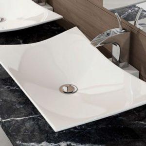 Lavabo de Cerámica de baño sobre Encimera modelo Europa de Art&Bath