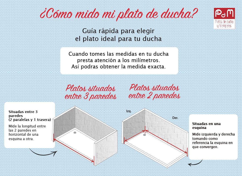 Conoce las diferentes medidas que tenemos para los platos de ducha y los  distintos tipos de materiales que te permitirán tener un baño moderno y  cómodo. 5df6ab15c407