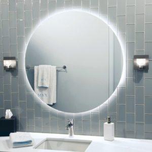Espejo Retroiluminado LED Redondo