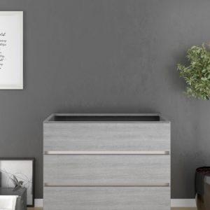 Mueble de Baño sin Lavabo de tres cajones