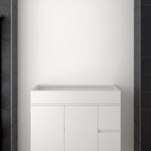 Mueble de Baño Barato sin Lavabo con puertas y cajones