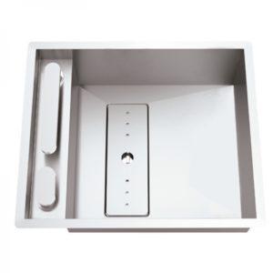 Fregadero Moderno de Cocina Modelo Invisible 40R de Rodi