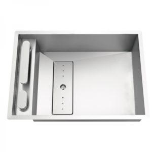 Fregadero Moderno de Cocina Grande Modelo Invisible 50 de Rodi