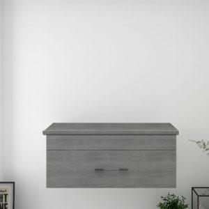 Mueble de Baño Barato Un Cajón Suspendido con Encimera