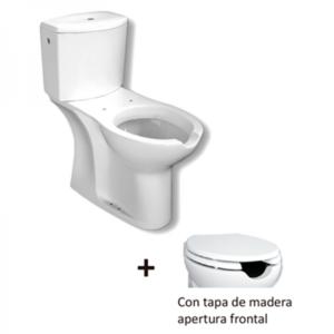 Kit inodoro movilidad reducida apertura frontal cisterna baja