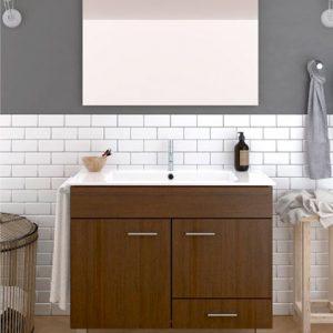 Mueble de baño Hades con lavabo